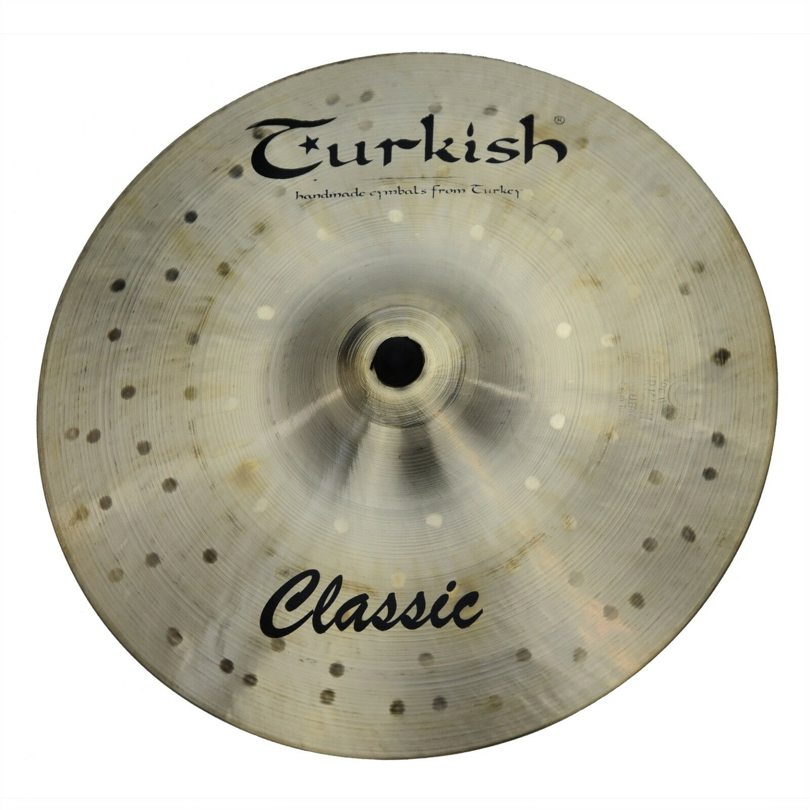 TURKISH CYMBALS cymbale Classic 8  Splash 160g