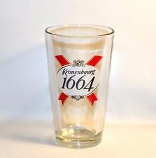 Kronenbourg 1664 Large Beer Clear Glass