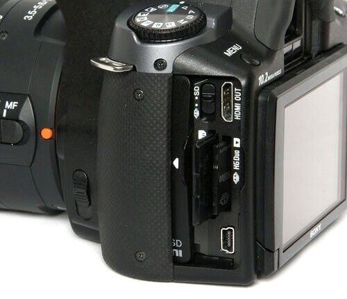 Sony, A330 Digitalt SLR, spejlrefleks