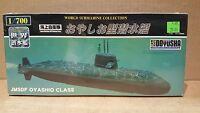 Doyusha 1-800 Jmsdf Oyashio Class 1:700 Scale Submarine Model Kit