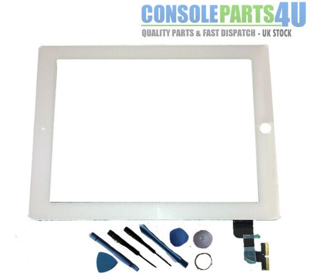 New iPad 2 Digitizer Touch Screen (White), fits 16Gb,32Gb,64Gb, WiFi & 3G models
