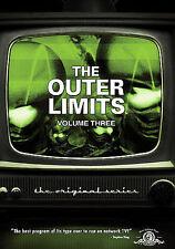 Outer Limits - The Original Series: Vol. 3 (DVD, 2009, 3-Disc Set, Dual Side)
