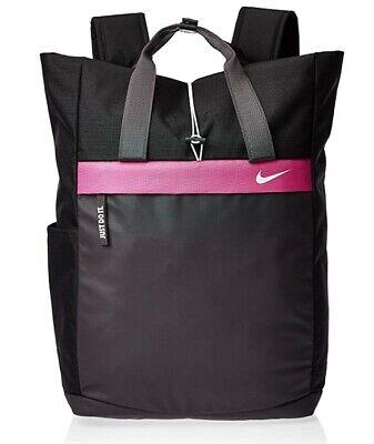 NEW Nike Radiate Backpack Black / Pink