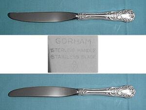 Gorham HISPANA SOVEREIGN STERLING Modern Hollow Butter Spreader 179250
