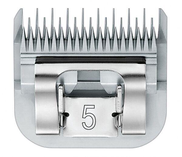AESCULAP Set lame GT357 6,3mm #5 Testina di rasatura ANCHE F . Moser max 4550