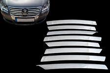 VW Passat 3C2 3C5 2005-2010 Chrom Frontgrill Zierleiste Abdeckung Set Edelstahl