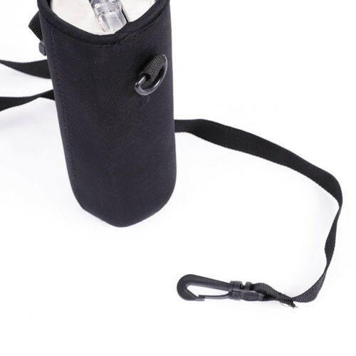 Neoprene Water Bottle Carrier Insulated Cup Cover Bag Holder Pouch with Strap