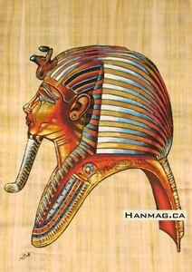 Egyptian-Papyrus-Painting-Poster-King-Tutankhamen-16X24-Inches-Handmade-4