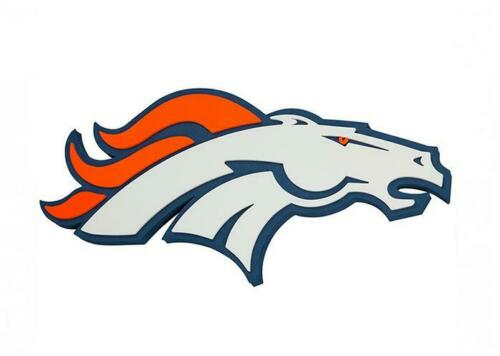 Denver Broncos XXL in rilievo 3d ottica magnetico Foam LOGO NFL FOOTBALL