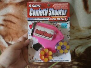 CLOSEOUT-SALE-Imported-From-USA-Confetti-Shooter-Pink