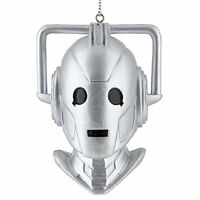 Doctor Who Cyberman Bust Blow Mold Christmas Ornament, New, Free Shipping