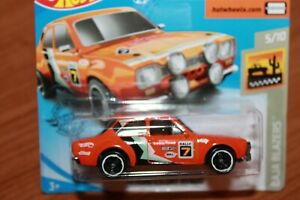 FORD-ESCORT-1600-RS-1970-HOT-WHEELS-SCALA-1-64