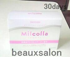 Suntory Milcolla, Collagen powder 195g (30days/stick),collagen and milk ceramide