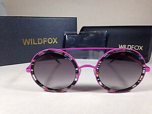 6cd16b8315 Image is loading Wildfox-Women-039-s-Winona-Fireworks-Sunglasses-Round-