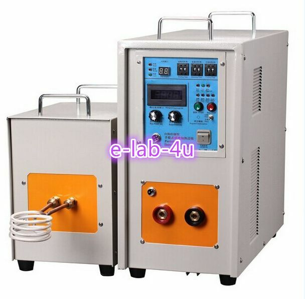 30KW 30-80KHz High Frequency Induction Heater Furnace LH-30AB CE E