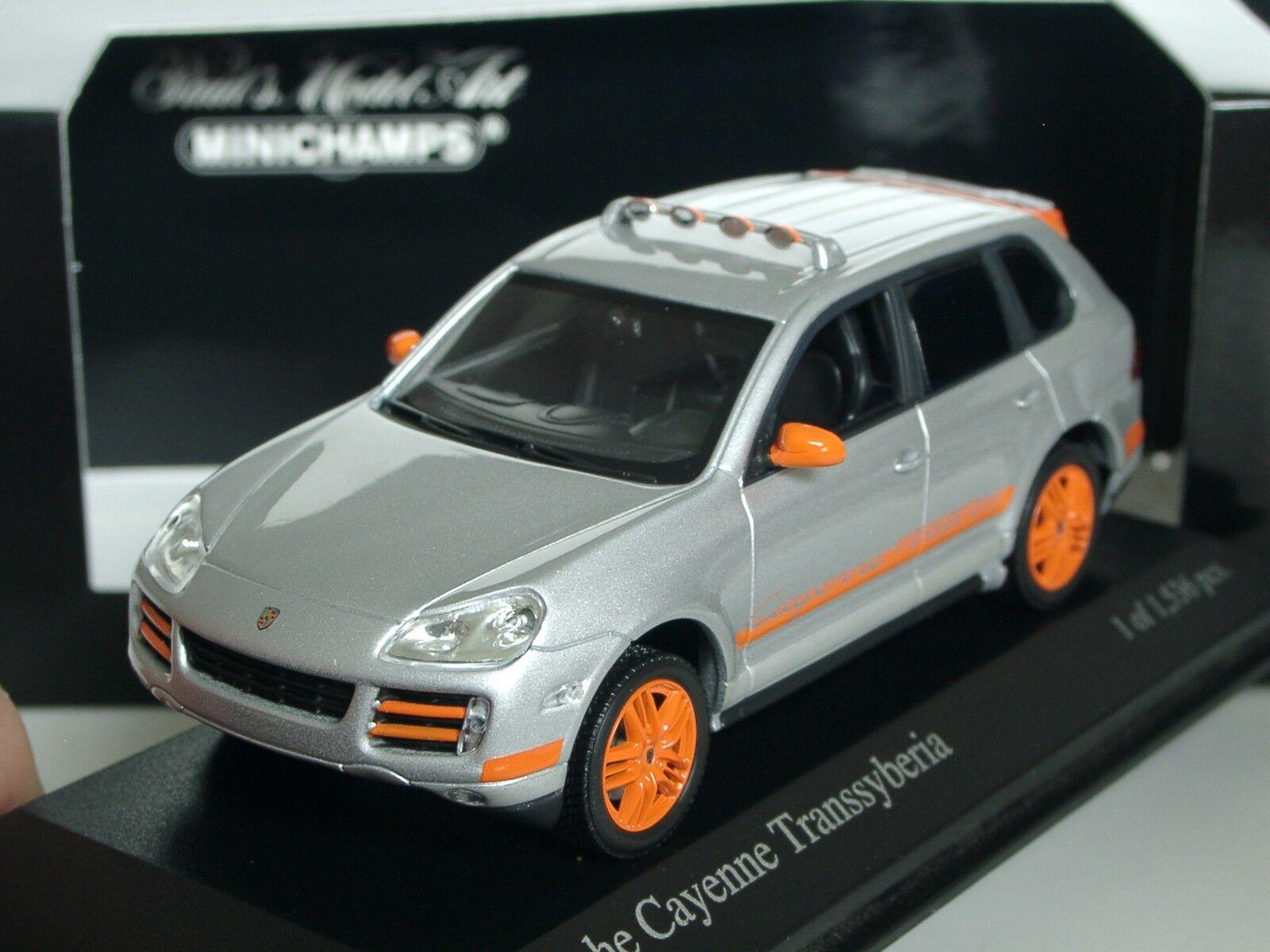 Minichamps Porsche Cayenne Transsyberia 2007 - 400 066290 - 1 43
