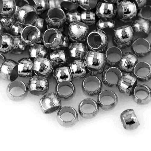 20g 200-1200pcs Quetschkalotten Quetschperlen Runden 2//2.5//3mm Großhandel
