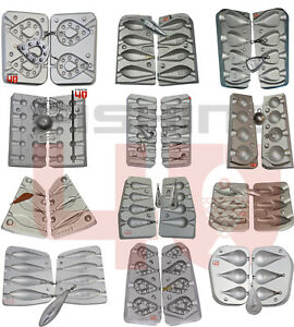 Stampo-in-alluminio-da-pesca-a-buon-mercato-piombo-Pesi-Esagonale-TORPEDO-Pera-BOMBA-Drop-Shot