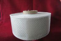 25 lfm Glasgewebeband feste Kante 100 mm Breit 560g/m² Gewebeband weiß Modellbau