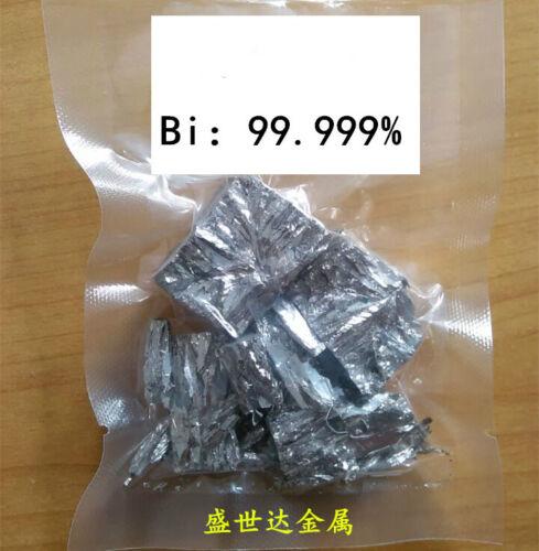 500g  Bismuth metal ingot High Purity 99.99% for making Bismuth Crystals