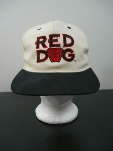 Vintage-RED-DOG-BREWERY-TRUCKER-Hat-Cap-one-Size-SNAPBACK