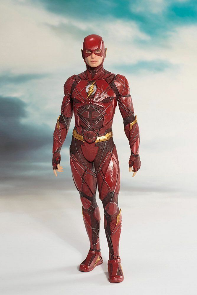 KOTOBUKIYA Justice League The Flash ARTFX + 1 10 Scale Pre Painted FIGURE NEW