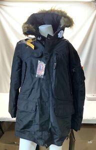 Authentic-Parajumpers-Mens-XXL-Kodiak-Eco-Man-Jacket-Black-Brand-New-w-Tags