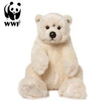 WWF 16869 Eisbär sitzend 47 cm weich Kuscheltier Plüsch Kollektion Stofftiere