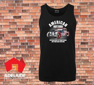 JB-039-s-Singlet-American-Hot-Rod-Cool-old-school-Retro-design-in-Small-to-5XL