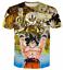 Women//Men Dragon Ball Z Goku Anime 3D Print Casual T-Shirt Short Sleeve Tops Tee
