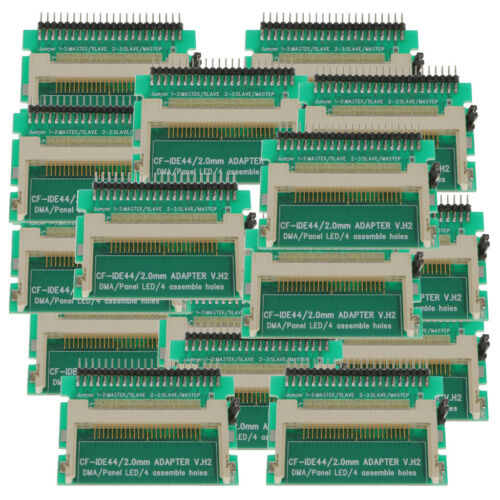 20Piece Laptop 44-Pin Male 2.5inch IDE To Compact Flash CF Card Adapter New