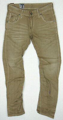 G-Star Raw ARC 3D Slim COJ W33 L32 Mens Roill Twill OD Nomad Denim Jeans