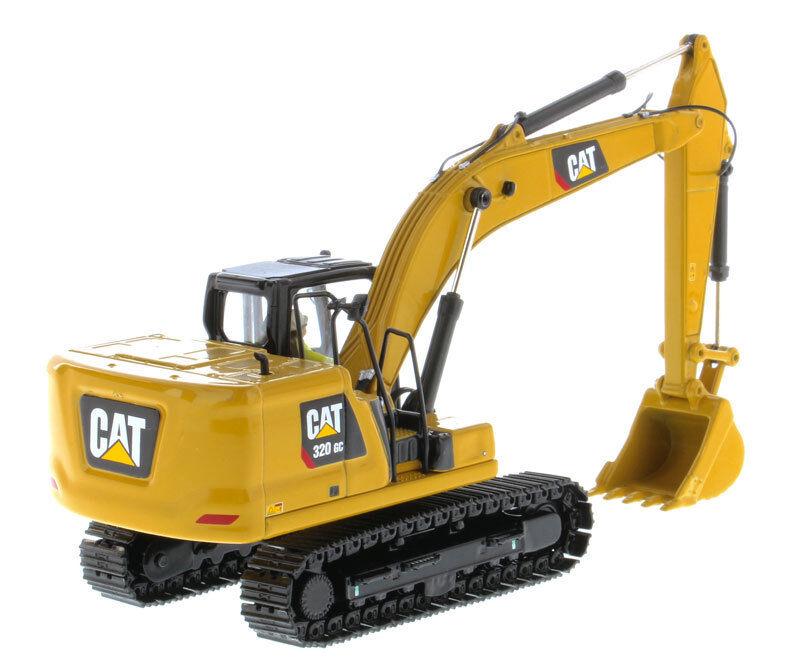 1 50 Diecast Masters 85570 CAT Caterpillar 320 GC Hydraulic Excavator Vehicle Me
