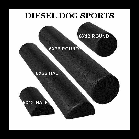Black High Density Foam Roller – Extra Firm YOGA PILATES PHYSICAL THERAPY