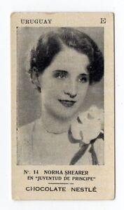 Nestle-Uruguay-1929-Rare-Film-Star-Card-Norma-Shearer-in-The-Student-Prince
