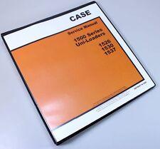 Case 1530 1537 Uni Loader Skid Steer Service Technical Manual Repair Shop Book