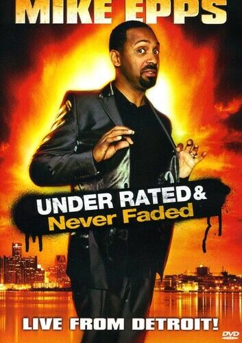 Mike Epps Under Rated Never Faded DVD Used - Good - $6.19