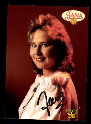 Humorvoll Jana Autogrammkarte Original Signiert ## Bc 117038 National Musik