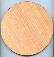 Wooden Basket Bottoms Lot Oak 8 Round