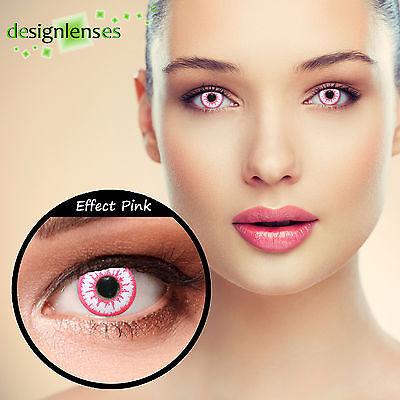 Designlenses© 2 Colored contact lenses crazy conact lenses