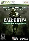 Call of Duty 4: Modern Warfare -- Game of the Year Edition (Microsoft Xbox 360, 2008)