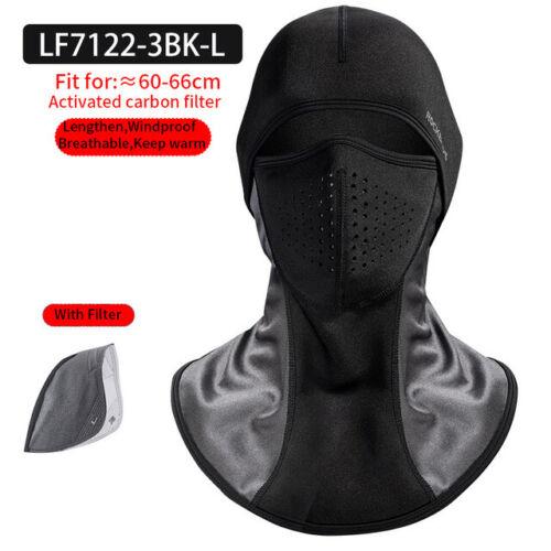 RockBros Winter Cycling Cap Face Mask Headgear Outdoor Sports Windproof Hat