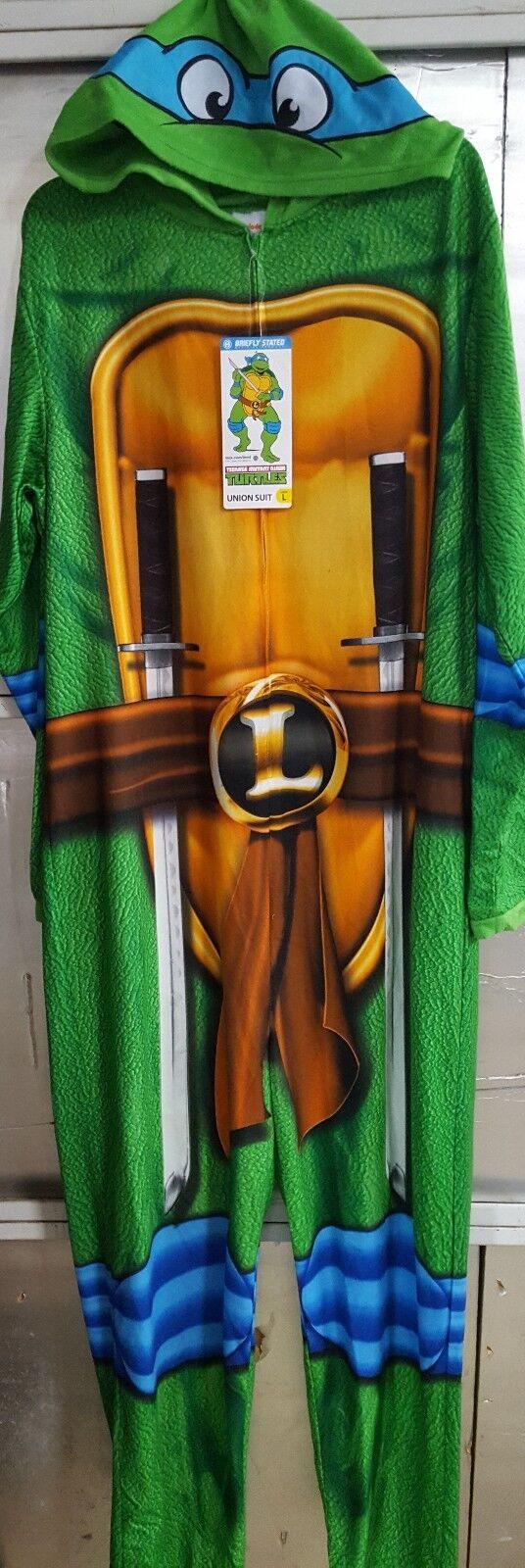 Teenage Mutant Ninja Turtles Union Suit Adult Large