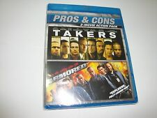 Armored/Takers    *New*   (Blu-ray Disc, 2016, 2-Disc Set)