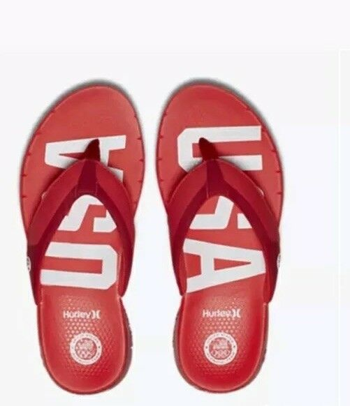 82a23bc1179 Hurley Phantom Free Special Edition Sandals Natural Motion Motion Motion  Big Tall 3824ae ...
