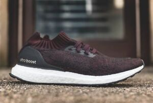 cac6cb732d5 Adidas Ultra Boost Uncaged Burgundy Black Size 11. BY2552 yeezy nmd ...