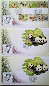 Malaysia FDC with Miniature Sheet & Stamps (23.08.2016) - 7 Wonders Flora/Fauna