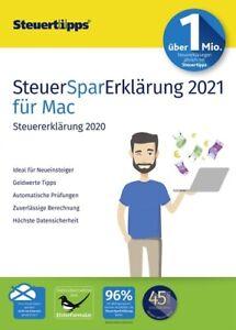 SteuerSparErklärung 2021 (für Steuerjahr 2020) MAC-Version, Download