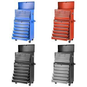 Carro-para-herramientas-PRO-armario-acero-4-ruedas-16-cajones-GREENCUT