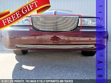 GTG, 1998 - 2002 LINCOLN TOWN CAR 1pc CHROME UPPER REPLACEMENT BILLET GRILLE KIT